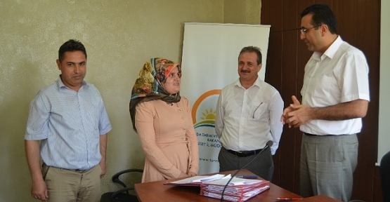 Genç Çiftçi Projesi Hibe Sözleşmeleri İmzalandı
