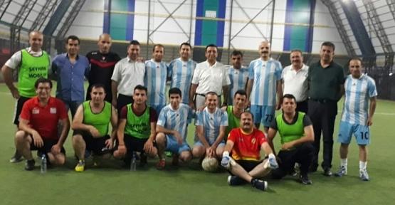 Tarım Müdürlüğü 15 Temmuz Anısına Futbol Turnuvası Düzenlendi