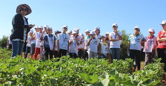 Lider Çocuk Tarım Kampı Projesi Tamamlandı