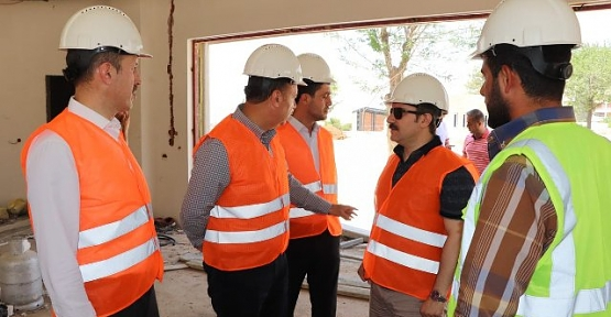Milletvekili Ören, Belediye'nin Projelerini Yerinde İnceledi