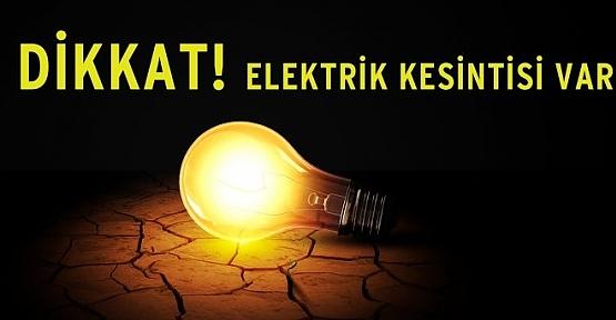 Siirt'te Elektrik Kesintisi Uyarısı
