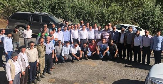 AK Parti Heyetinden Şirvan'da Köy Ziyaretleri