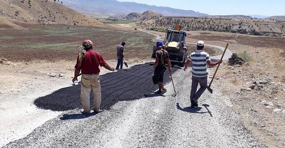 İl Özel İdaresi Grup Köy Yollarını Asfaltladı