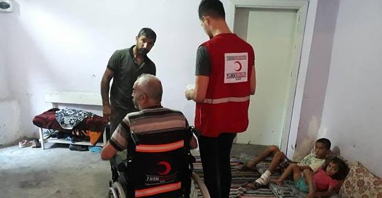 Siirt Kızılay Şubesinden Tekerlekli Sandalye Yardımı