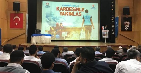 Siirt'te Vekalet Yoluyla Kurban Kesim Organizasyonu Toplantısı Yapıldı