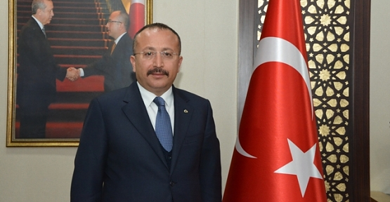 """Vali Ali Fuat Atik'in """"Gaziler Günü"""" Kutlama Mesajı"""