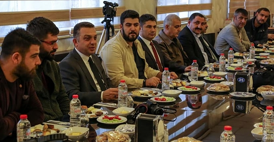 Emniyet Müdürü Saruhan Kızılay, Basın ile Kahvaltıda Buluştu