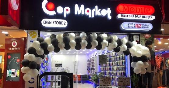 """Eren Store-2 """" Cep Market"""" Hizmete Açıldı"""