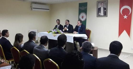 Pervari Kaymakamı Aydemir, Okul Müdürleri ile Toplantı Yaptı