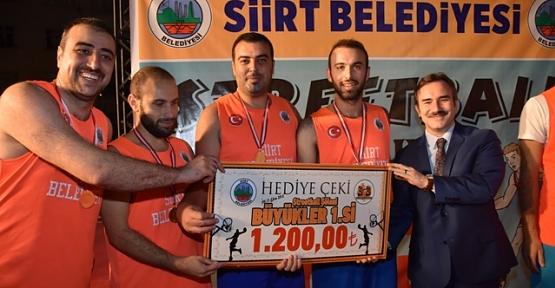 Sokak Basketbolu Şampiyonları Belirlendi