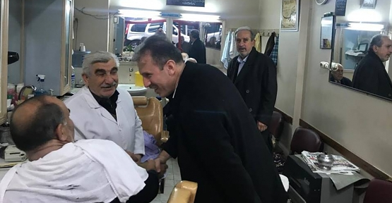 AK Parti İl Başkanı Çalapkulu'dan Esnaf Ziyareti