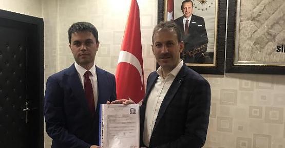 AK Parti Tillo İlçemizin İlk Aday Adayı Veysel Aydın Oldu
