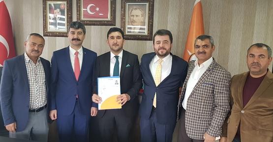 Cahit Sevgili, AK Parti'den İl Genel Meclis Üyeliği İçin Aday Adaylığı Başvurusu Yaptı