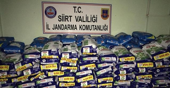 Kurtalan'da Piyasa Değeri 260 bin TL olan Sahte Deterjan Ele Geçirildi