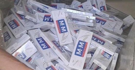 Sigara Kaçakçılıklara Geçit Yok