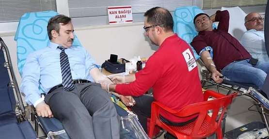 Siirt Belediyesi'nden Kan Bağışı Desteği
