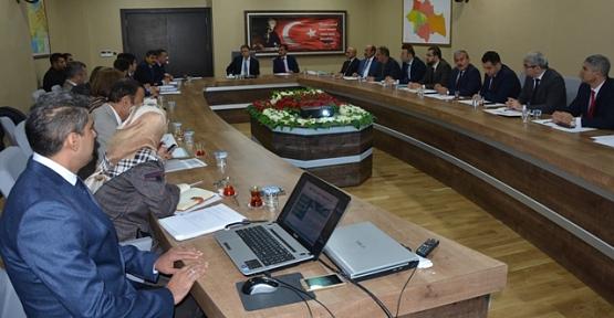 Siirt'te Uyuşturucu İle Mücadele İl Koordinasyon Kurulu Toplantısı Yapıldı