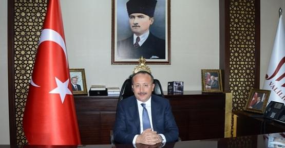 Vali Ali Fuat Atik'in, 10 Kasım Mesajı