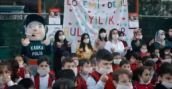 Vilayetler Hizmet Birliği Anaokulu Öğrencilerinden Lösemili Çocuklara Destek