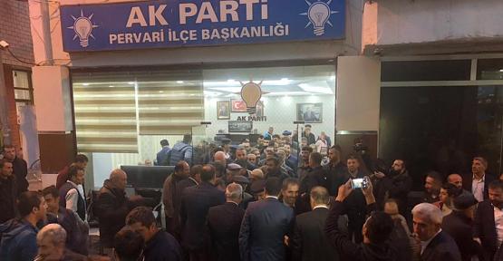 """Başkan Özcan, """"Biz Pervari'ye Sevdalıyız"""""""