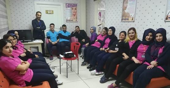 Özel Siirt Hayat Hastanesi Personeline Etkili İletişim Eğitimi Verildi