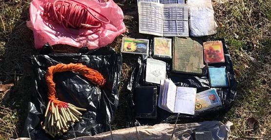 Siirt'te PKK'ya Ait Çok Sayıda Patlayıcı Düzeneği, Yaşam Malzemesi ve Örgütsel Doküman Ele Geçirildi