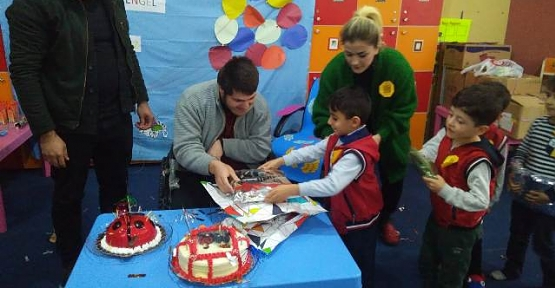 Vilayetler Hizmet Birliği Anaokulu Öğrencileri Engellileri Unutmadı