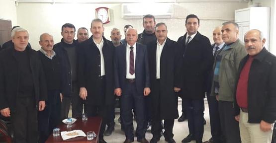 AK Parti Heyeti, Belediye-İş Sendikası'nı Ziyaret Etti