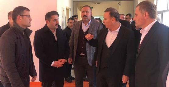 AK Parti Siirt Milletvekili Osman Ören Pervari İlçemizi Ziyaret Etti