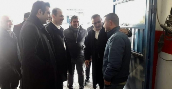 Ali İlbaş esnaf ziyaretinde bulundu