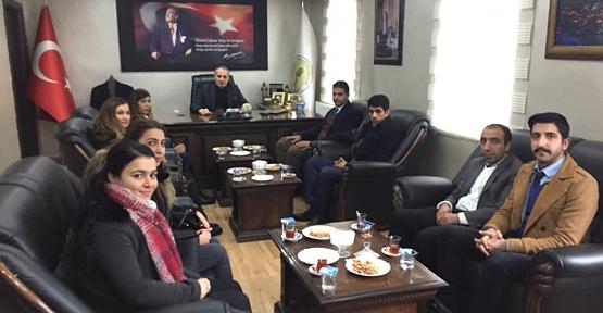 Öğretmenlerden Başkan Özcan 'a Teşekkür