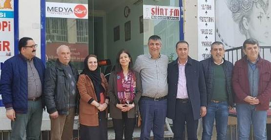 HDP Belediye Eş Başkan Adayları Büromuzu Ziyaret Etti