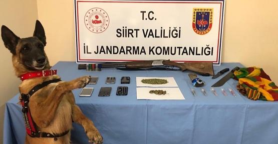 Siirt ve Batman'da Narko-Terör Operasyonunda 7 Gözaltı