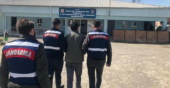 6 Ayrı İlde, 8 Ayrı Suçtan Aranan Cezaevi Firarisi Siirt'te Yakalandı