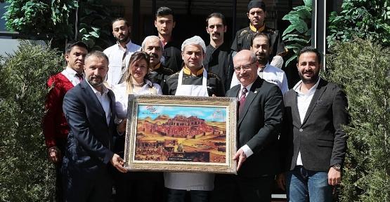 ATO Başkanı Gürsel Baran'dan Sadi Aydın'a Hayırlı Olsun Ziyareti