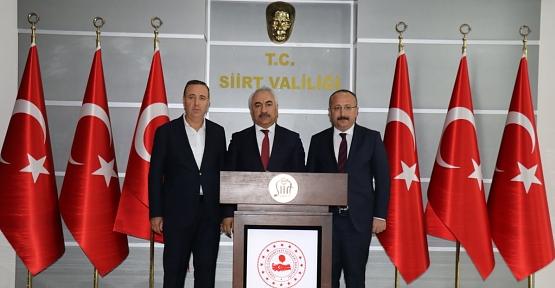 İçişleri Bakan Yardımcısı Mehmet Ersoy Siirt'te