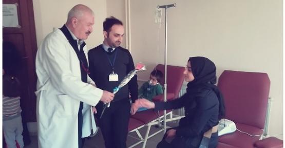 Özel Siirt Hayat Hastanesi'nden 8 Mart Dünya Kadınlar Günü Etkinliği