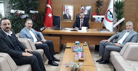 AK Parti İl Başkanı Çalapkulu'dan İl Genel Meclisi Başkanı Bayram'a Hayırlı Olsun Ziyareti