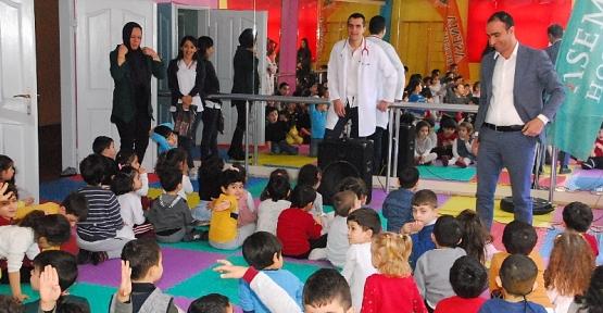 Hassa Hatun Anaokulunun Minik Öğrencileri Sağlık Haftasını Kutladı