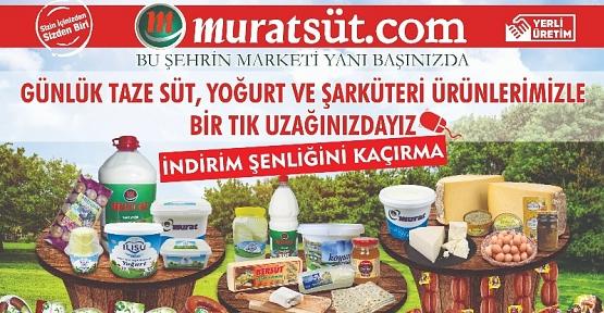 Murat Market'ten Müşterilerine Bir Hizmet Daha
