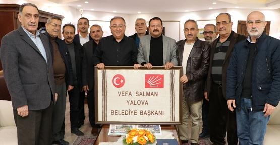 Yalova SİDER'den, Başkan Salman'a Hayırlı Olsun Ziyareti