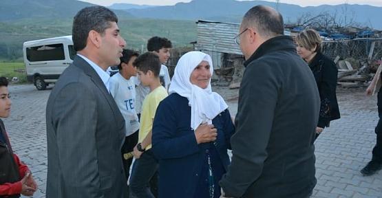 Ahmet Arslan'dan Vali Ali Fuat Atik'e Teşekkür