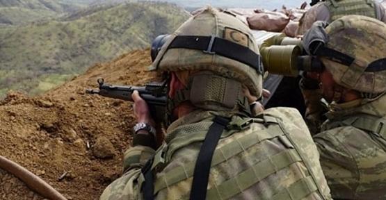 Baykan'da Etkisiz Hale Getirilen Terörist, 'Mavi Kategori'de Aranıyormuş