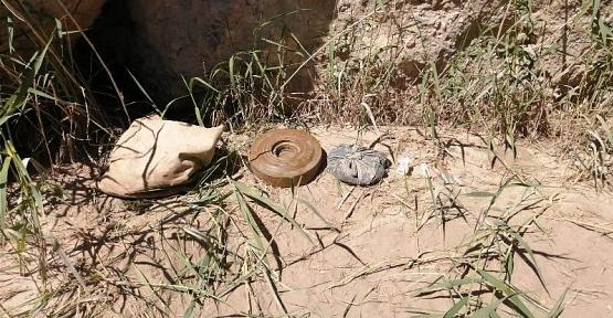 Eruh'ta Anti Tank Mayını ve Mühimmat  Ele Geçirildi