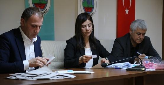 Siirt'te Türkiye Belediyeler Birliği Üye Seçimi Yapıldı