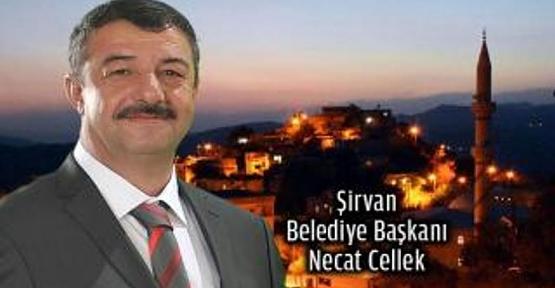 Şirvan Belediye Başkanı Necat Cellek'ten Kadir Gecesi Mesajı