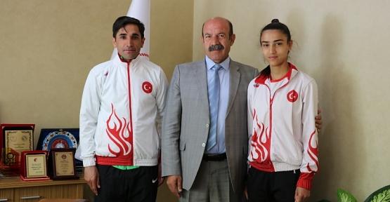 Türkiye Dağ Koşusu Şampiyonasında Fatma Bizek Türkiye İkincisi Oldu