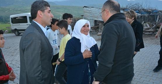 Vali Atik, Kemerli Köyünde Şehit Ailesi İle Birlikte İftar Yaptı