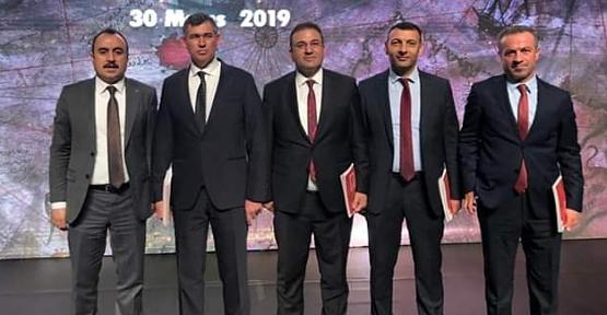 Baro Başkanı Av.Nizam Dilek Yargı Reformu Strateji Toplantısına Katıldı