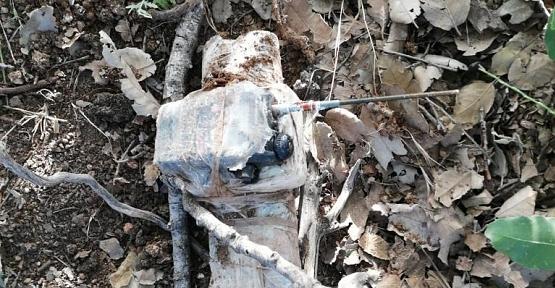 Eruh'ta PKK'nın Patlayıcı ve Mühimmatı Ele Geçirildi